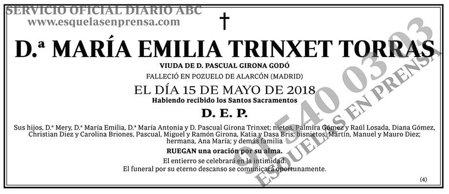 María Emilia Trinxet Torras